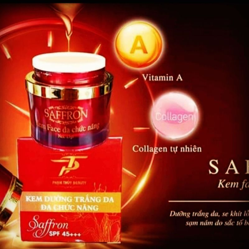 kem face saffron giá rẻ