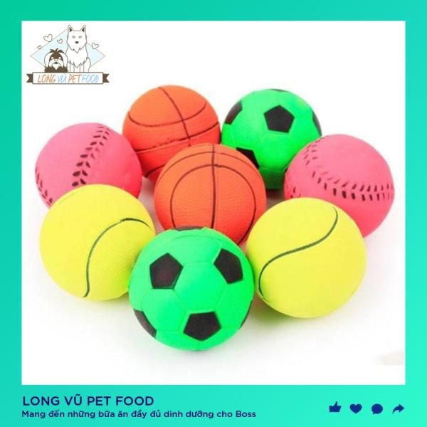 Đồ chơi bóng cao su làm sạch răng cho thú cưng, đồ chơi cho chó, đồ chơi cho mèo, đồ thú cưng