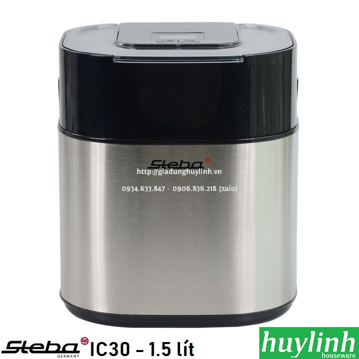 Máy làm kem Steba IC30 - 1.5 lít