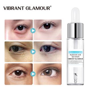 VIBRANT GLAMOUR Axit hyaluronic Huyết thanh mắt Chống nhăn Sự lão hóa Xóa bóng tối Hạt béo tròn chống lại bọng mắt dưỡng ẩm Bản chất 15mI thumbnail