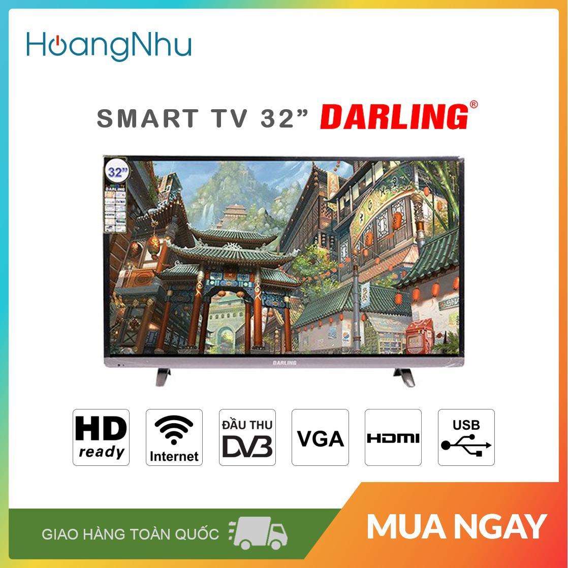 Bảng giá Smart TV Darling 32 inch Model 32HD960S1,32HD960S (HD Ready, Wifi, Truyền hình KTS) - Bảo hành toàn quốc 2 năm