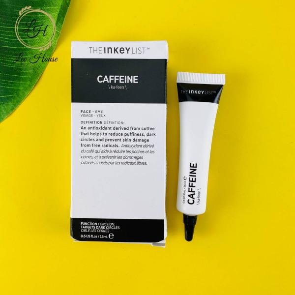 Kem dưỡng da mắt The Inkey List Caffein Eye Cream 15ml