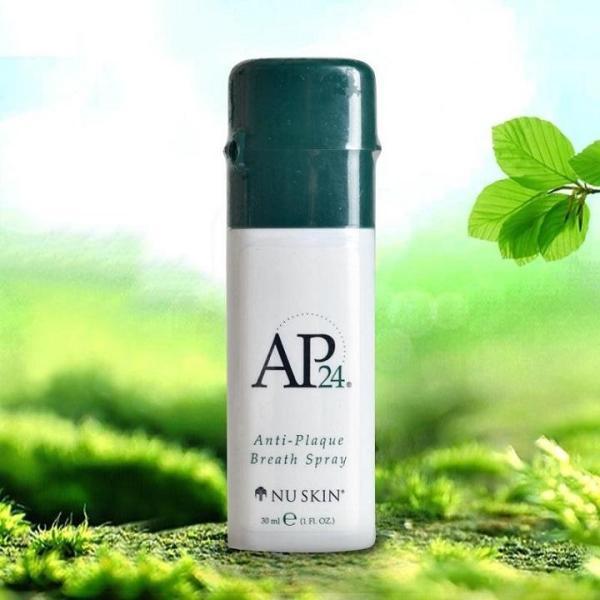 Xịt thơm miệng AP24 Anti-Plaque Breath Spray 30ml của Mỹ, khử mùi hôi miệng, thơm miệng dài lâu tức thì