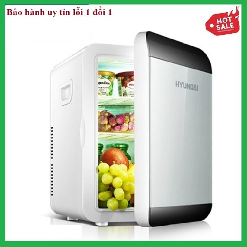 Tủ lạnh mini, tủ lạnh mini 13.5l, 2 chiều nóng và lạnh, nguồn 12v và 220v