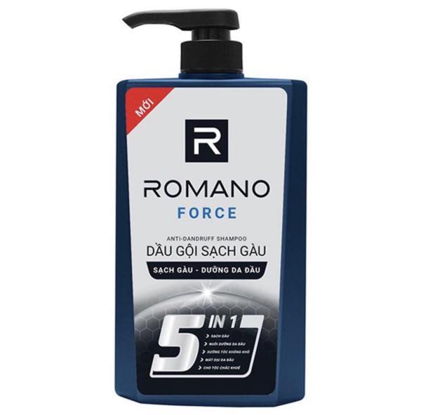 Dầu gội cao cấp Romano Force loại bỏ & ngăn gàu trở lại chai 650ml