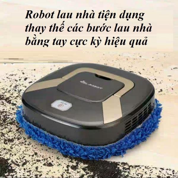 Robot lau nhà thông minh, máy lau nhà sàn ướt và khô, máy lau nhà tự động