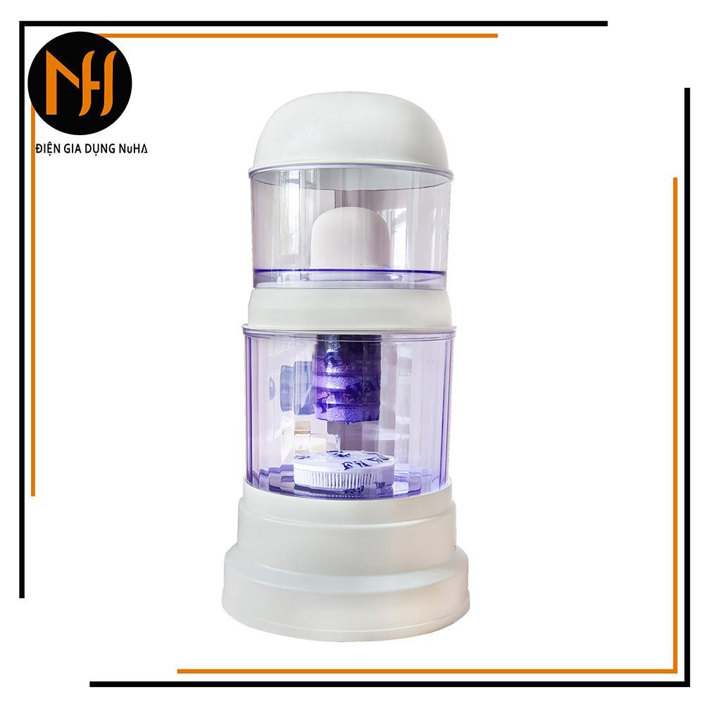 Bình lọc nước uống trực tiếp cao cấp Hưng Long One Mom dung tích 15L, chuẩn, có linh kiện thay thế