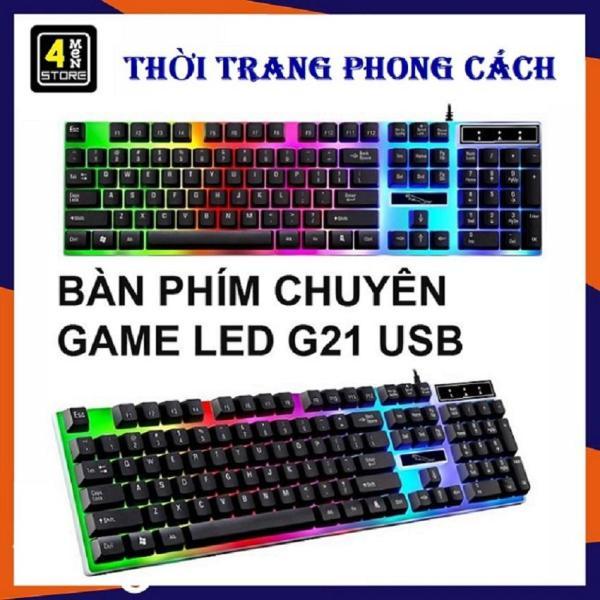 Bảng giá Bàn Phím Máy Tính Con Báo G21 PRO NEW Có LED 7 Màu Ấn Tượng - bàn phím bàn phím máy tính bàn phím giả cơ bàn phím chơi game cao cấp` Phong Vũ