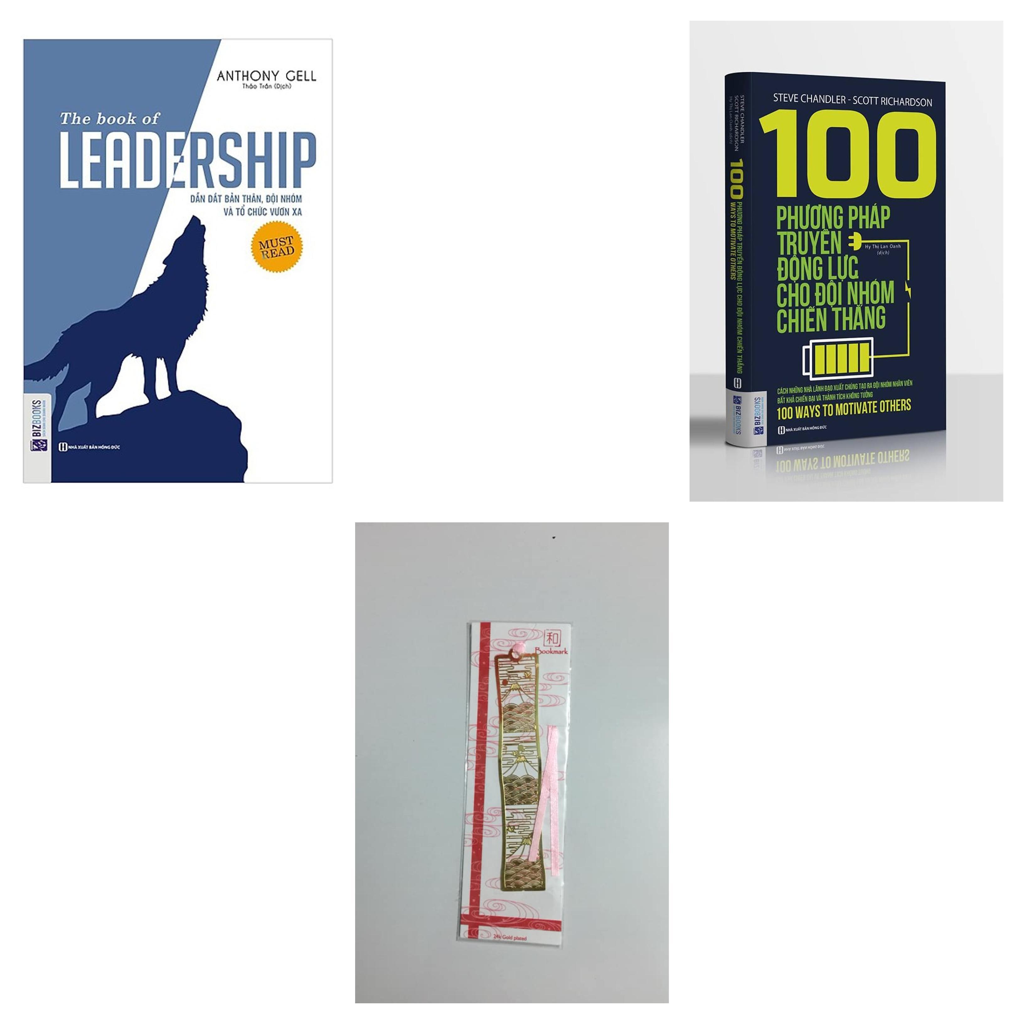 Mua combo 2 cuốn:leadership+100 phương pháp truyền động lực cho đội nhóm chiến thắng