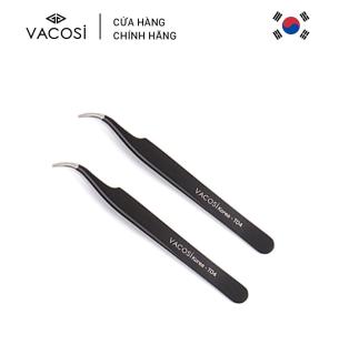 Vacosi Nhíp Nối Mi Cong Curved Tweezers T04 (Màu Đen) thumbnail