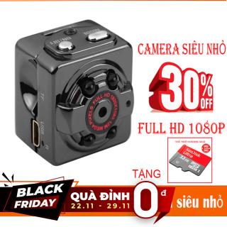 [TẶNG KÈM THẺ NHỚ 32GB Trị giá 100K ] Camera mini siêu nhỏ SQ8 HD1080P hình ảnh rõ nét Quay cả ban ngày và ban đêm (camera Hành trình và kiêm camera an ninh) thumbnail