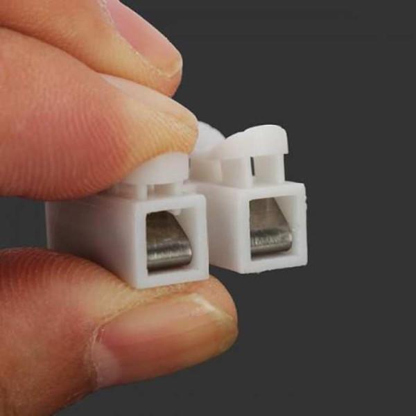 [HCM]Bộ 10 20 30 Cầu Nối Dây Điện 2P Chế tạo từ nhựa chống cháy tiêu chuẩnchịu nhiệt độ từ -40° đến 150° chịu điện áp đến 380V