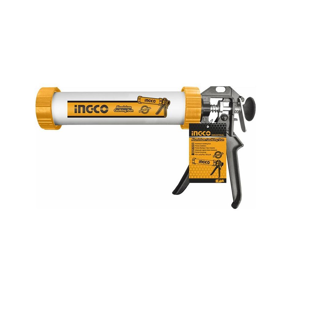 Dụng cụ bơm silicol ống nhôm Ingco HCG0112