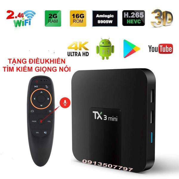 Bảng giá android tivi box tx3 mini ram 2g rom 16g atv tặng điều khiển tìm kiếm giọng nói Điện máy Pico