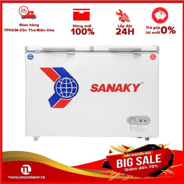 Tủ đông Sanaky VH-2899A2K - 1 NGĂN, 2 CÁNH, 240 LÍT