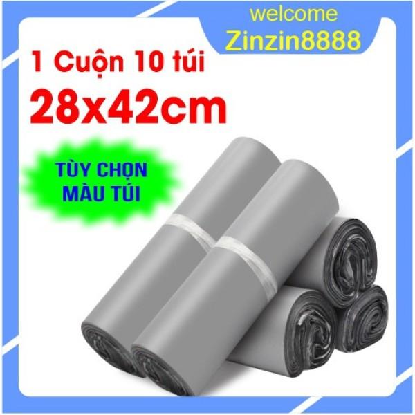 [28x42cm] 10 Túi Gói Hàng, Đóng Hàng, Niêm Phong, Bao Bì Gói Hàng Tự Dính