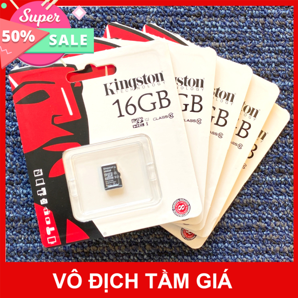 [Chính Hãng FPT] Thẻ nhớ Kingston Micro SDHC Class 10/ 16GB