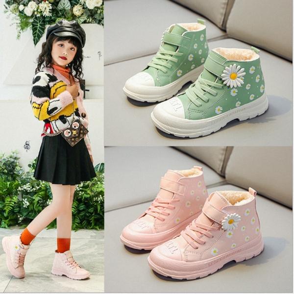 Giá bán Giày bốt bé gái phong cách thể thao từ 3 đến 14 tuổi - BB94