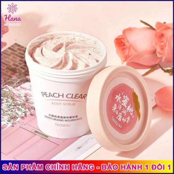 [CỰC HOT] Kem Tẩy Da Chết Body Đào Peach Clear HEYXI Hana Tech, hiệu quả sau 5 ngày dùng tẩy tế bào chết loại bỏ da sạm màu cho làn da trắng hồng tự nhiên giảm thâm hiệu quả - Mỹ phẩm nội địa Trung Hanatech