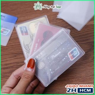 Túi Đựng CCCD, Card Visit, Thẻ ATM... - Giúp Bảo Vệ Thẻ Bị Trầy Xước Va Chạm Làm Hư Chip, Làm Bay Màu Thẻ thumbnail