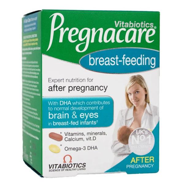 Pregnacare Breast- feeding - Viên bổ tổng hợp cho phụ nữ sau sinh-Hộp 84 viên