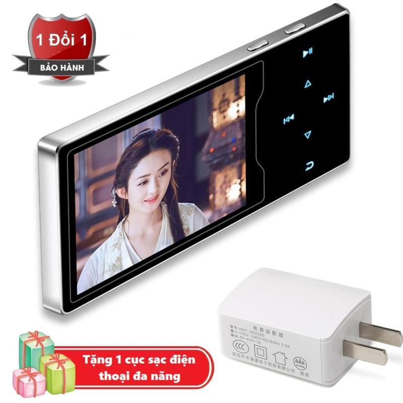 Máy nghe nhạc Ruizu D08 cao cấp màn hình HD 2.4 inch Tặng kèm Cục sạc điện thoại đa năng