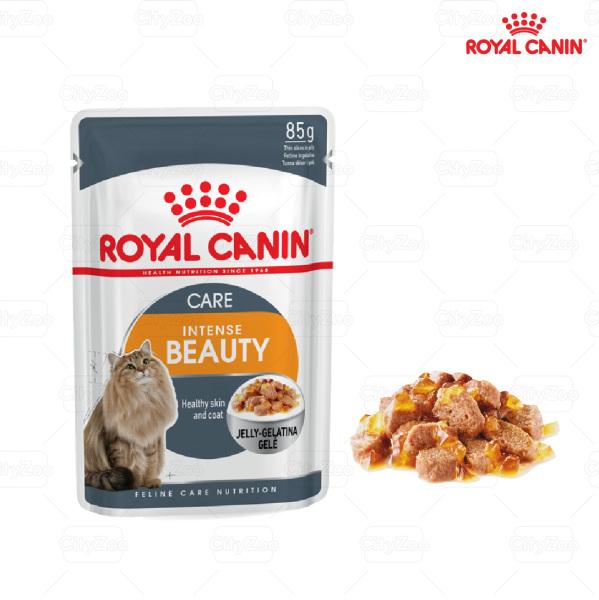 Royal Canin Intense Beauty jelly -gravy – chăm sóc lông khỏe đẹp
