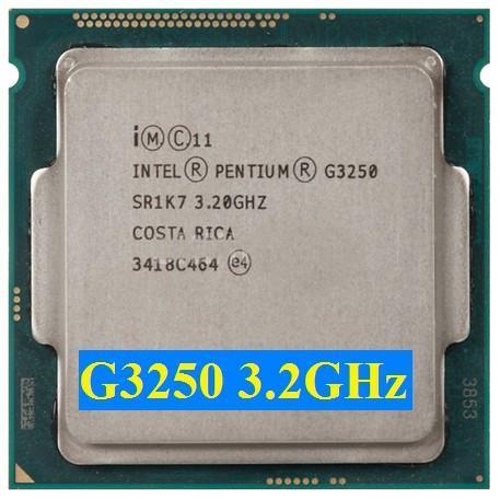 Giá CPU G3250 3.0Ghz socket 1150 tặng fan zin