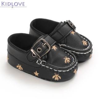 Giày Trẻ Mới Biết Đi Trẻ Em Kidlove, Giày Da Nhỏ Phong Cách Anh Cho Bé 3-12 Tháng Tuổi