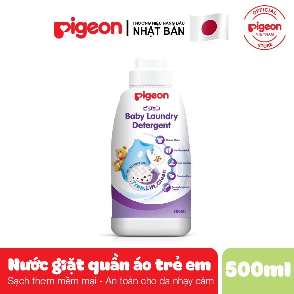 Giá Quá Tốt Để Có Nước Giặt Quần áo Trẻ Em Pigeon Chai 500ml