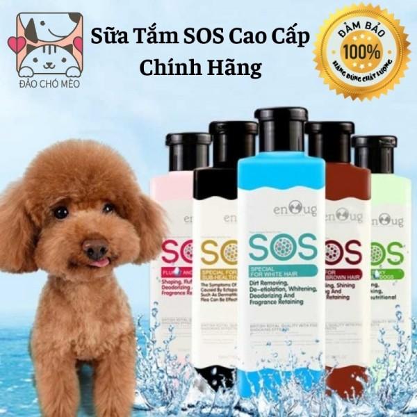 Sữa tắm SOS 530ml, sữa tắm cho chó mèo hàng chính hãng - Đảo Chó Mèo