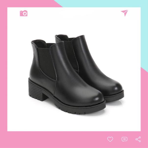 Boots Cổ Chun Thời Trang Cho Nữ BT1 Helen giá rẻ