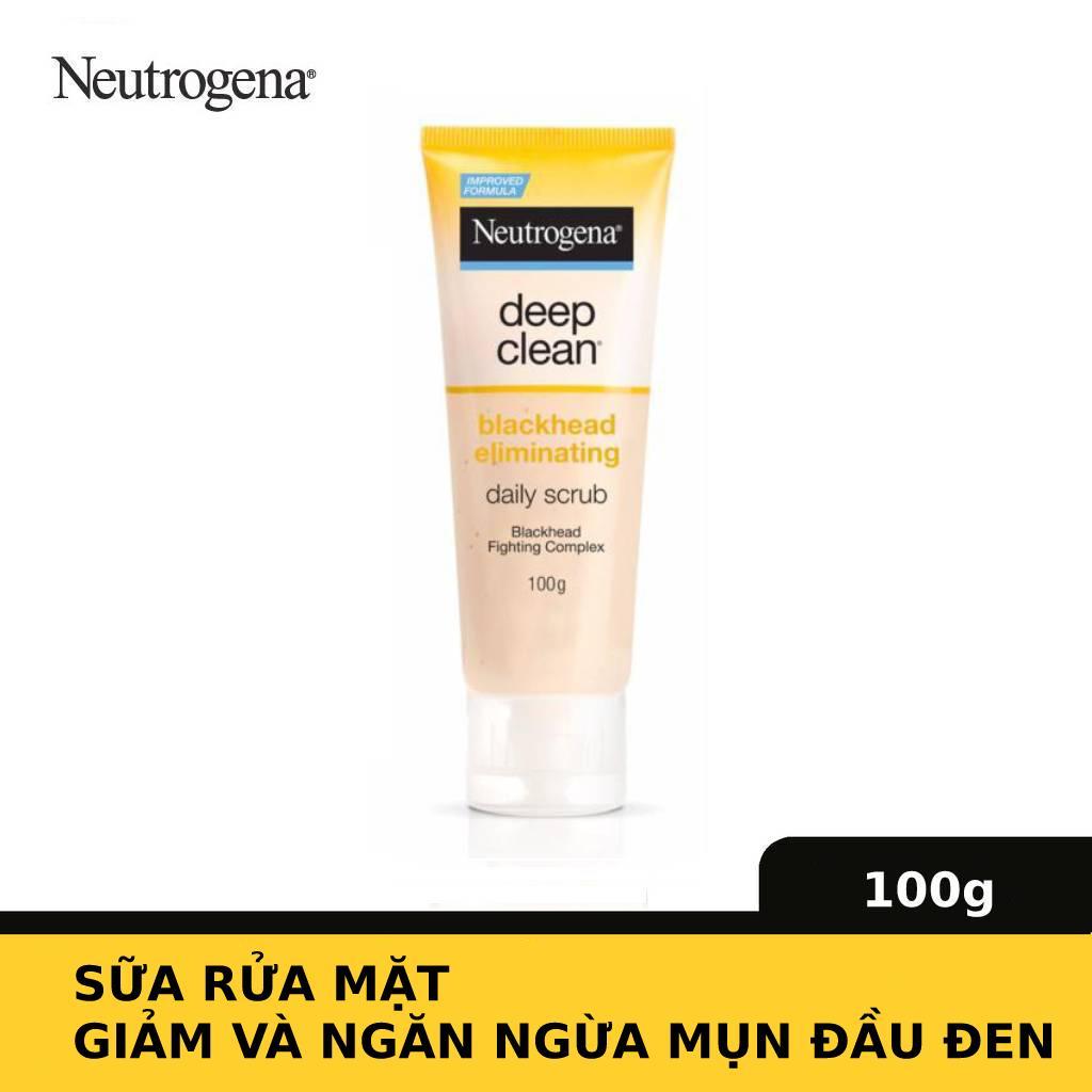 Sữa rửa mặt Neutrogena ngừa mụn đầu đen 100g | Lazada.vn