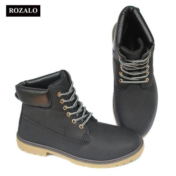 Giày boot nam cổ cao chống thấm Rozalo RM6604 giá rẻ