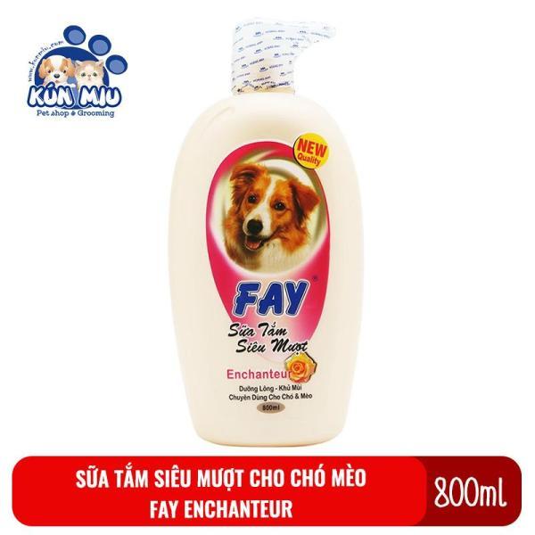 Sữa tắm siêu mượt cho chó mèo Fay Fay En-Rosely 800ml