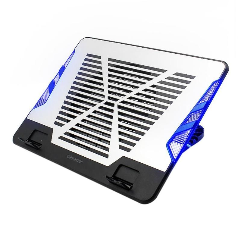 Giá Oimaster Genuine Usb Fan Laptop Cooler Cooling Pad Base Led Notebook Cooler Computer Usb Fan Stand For Laptop Pc 12 Inch-17 Inch