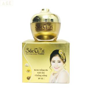 Kem trắng da - Giữ ẩm - Chống nắng - Sắc tiên today (50g) - Công ty Kim Ngân thumbnail