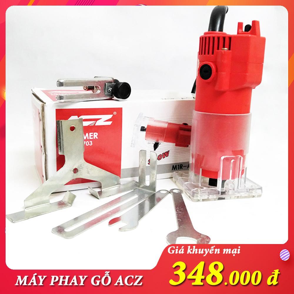 Máy soi gỗ ACZ 350w máy phay mộng gỗ may phay go - May soi go ACZ 3703 350W