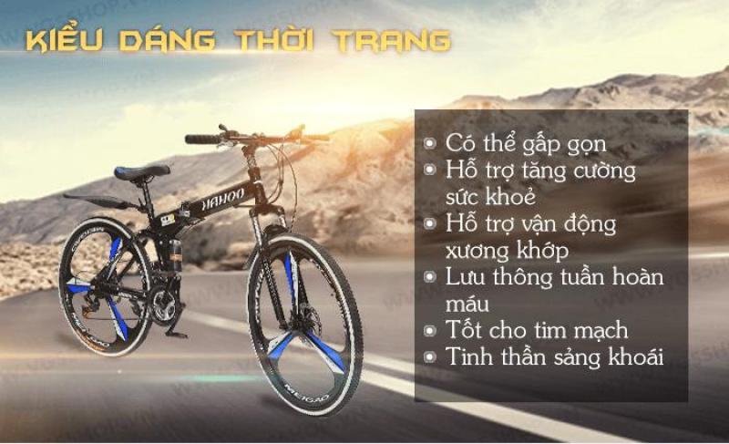 Mua Xe đạp gấp gọn thể thao địa hình HaHoo