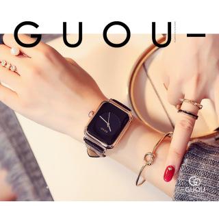 Đồng hồ Nữ GUOU TICHIS Dây Mềm Mại đeo rất êm tay - Kiểu Dáng Apple Watch 40mm - Đồng hồ nữ cao cấp, Đồng hồ nữ kính sapphire, Đồng hồ nữ thời trang, Đẹp,Sang trọng,Đẳng cấp, Bền, Giá Sốc, Đồng hồ nữ hàn quốc 4