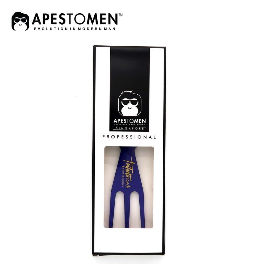 LƯỢC APESTOMEN TRIFECTA COMB - BLUE nhập khẩu