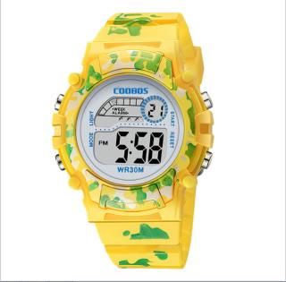 [MIỄN PHÍ GIAO HÀNG] Đồng hồ trẻ em đa chức năng kết hợp hiệu ứng đèn Lex 7 màu chính hãng Coobos 5