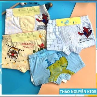 Set 2 Quần chíp đùi hình Spider Men Người nhện hình thú cho bé trai