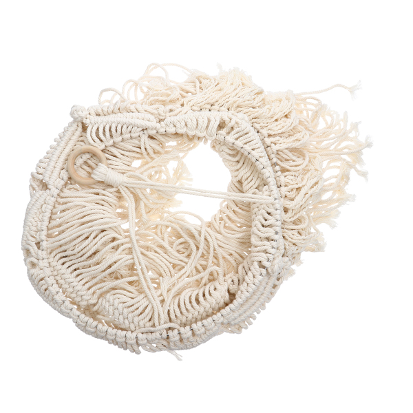 Bảng giá Ouruola【Ready Stock】Handmade Lamp Shade Cotton Weaving Bohemian Style Hanging Lamp Cover