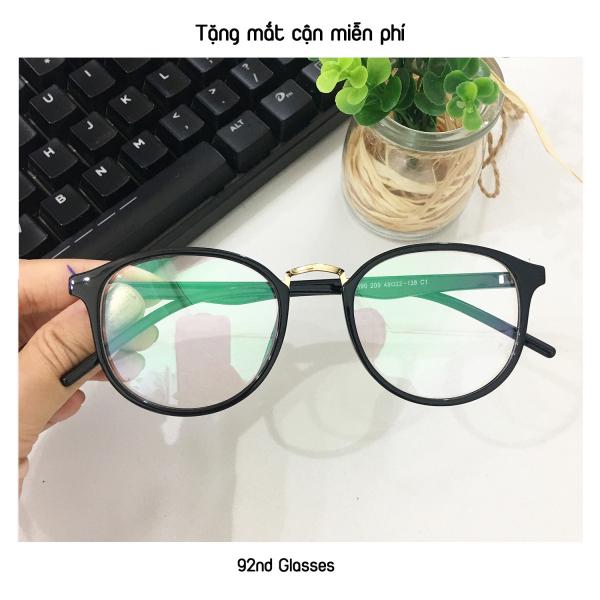 Mua Gọng kính cận vintage dẻo GC209, không gây khó chịu hay đau ở vành tai đi đeo trong thời gian dài - tặng mắt cận miễn phí
