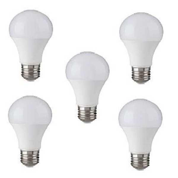 Bộ 5 bóng đèn LED BULB Trụ 12W Siêu sáng - A60