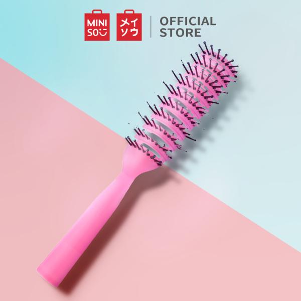 Lược chải tóc tròn Miniso (Đỏ) nhập khẩu