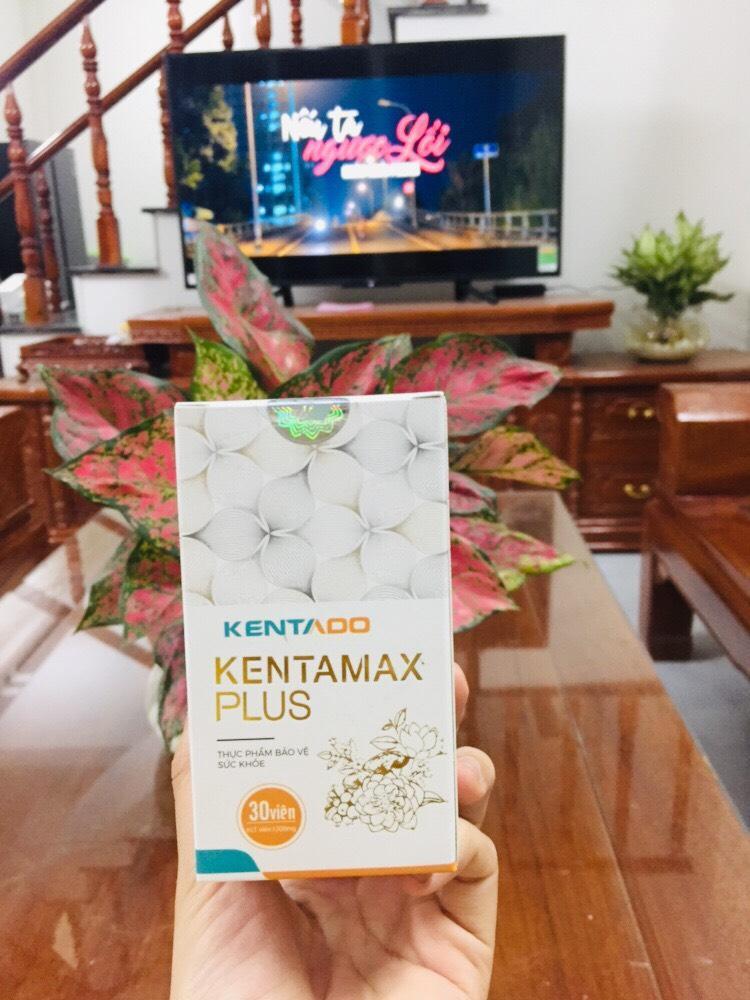 Tăng cân Kentamax Plus dành cho người bị dạ dày, đại tràng