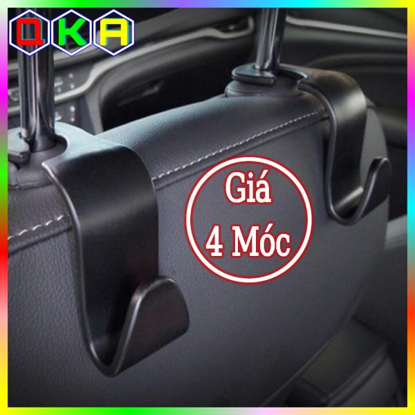 Bộ 4 móc treo đồ xe ô tô ghế Sau