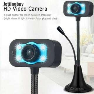 Camera gắn máy tính, Webcam kèm microphone cho máy tính, HD Webcam Máy Tính, Camera Kỹ Thuật Số Phát Trực Tiếp Video Lớp Học Trực Tuyến Microphone. 6